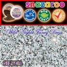 SNAZAROO FACE PAINT GLITTER DUST SILVER 12ML TUB